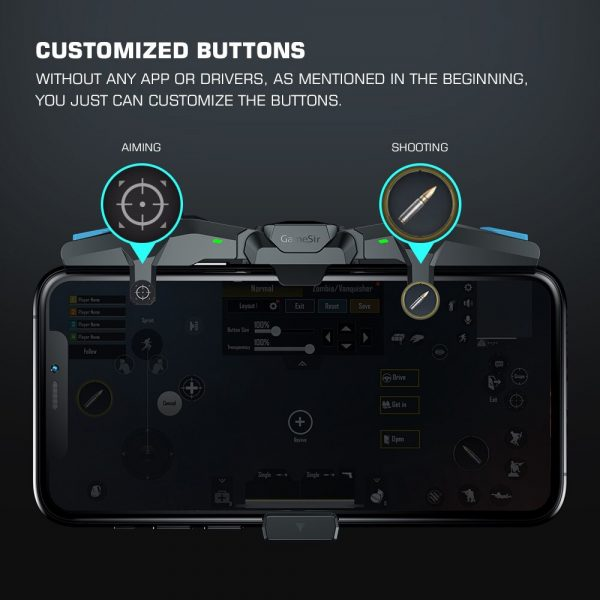F4 Plug-and-Play Game Controller for iOS and Android Devices_7