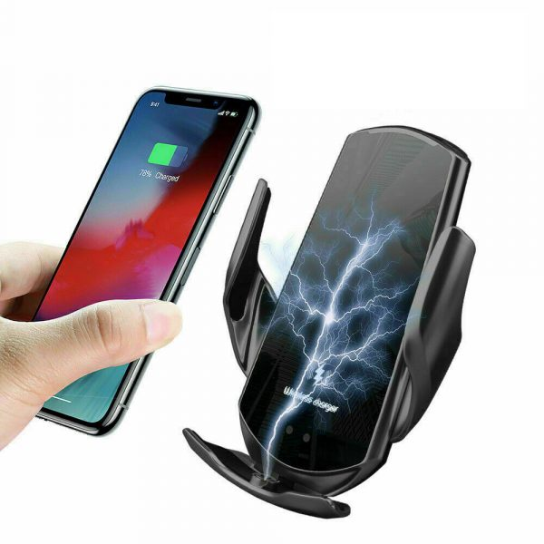 15W Q3 Wireless Car Mobile Phone Charger and Holder_2
