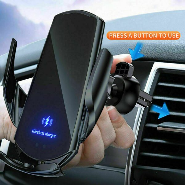 15W Q3 Wireless Car Mobile Phone Charger and Holder_10