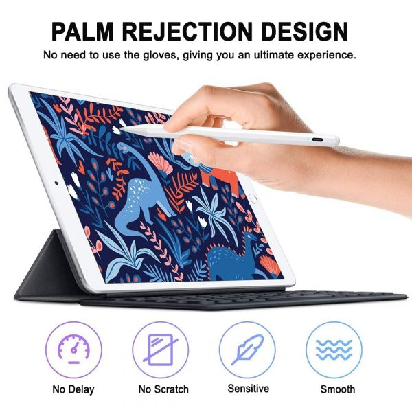 Capacitive Stylus Pen with Palm Rejection for iPad_4