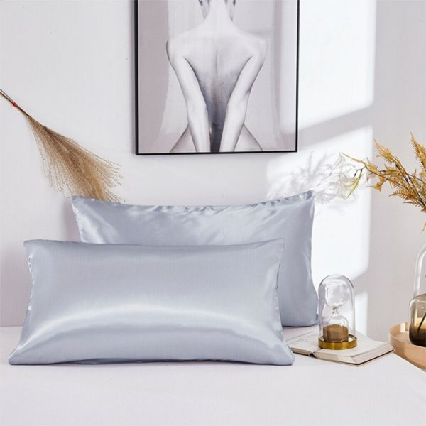 Mulberry Silk Pillow Cases Set of 2 in Various Colors_10