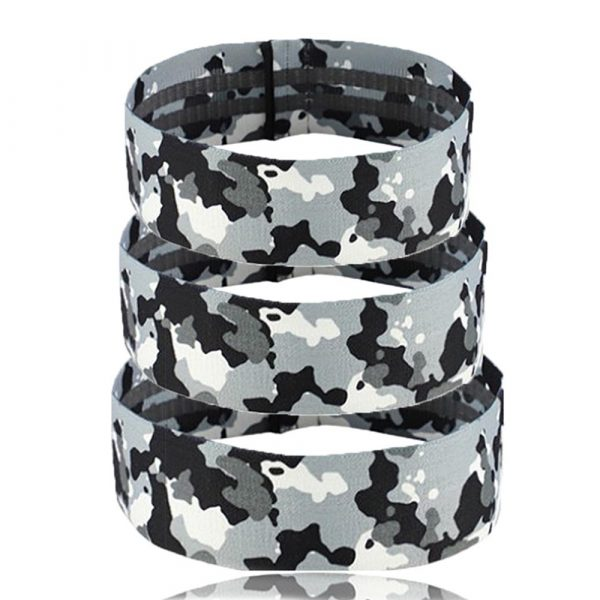 Camouflage Non-Slip Hip Trainer Resistance Bands_0