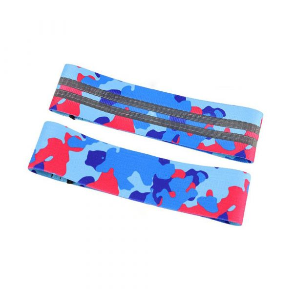 Camouflage Non-Slip Hip Trainer Resistance Bands_4