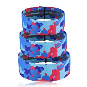Camouflage Non-Slip Hip Trainer Resistance Bands