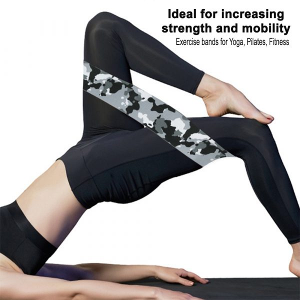 Camouflage Non-Slip Hip Trainer Resistance Bands_14