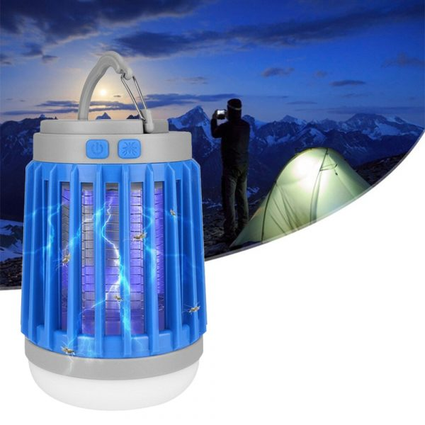Solar Powered LED Outdoor Light and Mosquito Killer USB Charging_3