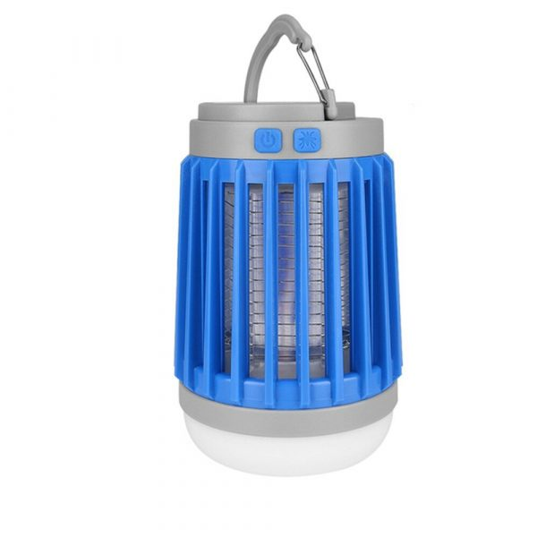 Solar Powered LED Outdoor Light and Mosquito Killer USB Charging_4