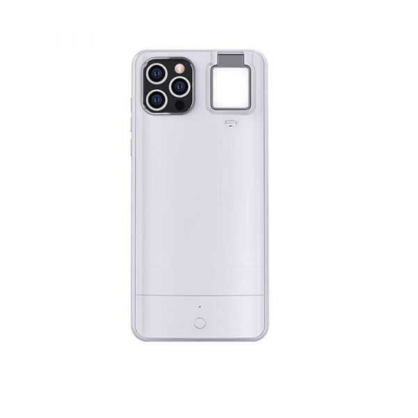 Mobile Phone Case for Apple Devices with LED Fill Light_0