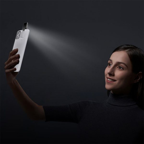 Mobile Phone Case for Apple Devices with LED Fill Light_2