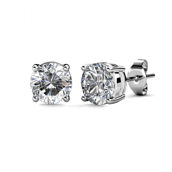 5 Day Set of Earrings with Genuine Swarovski Crystals_3
