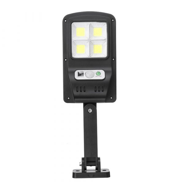 Motion Sensor Outdoor Area Remote Controlled Solar Lamp_5