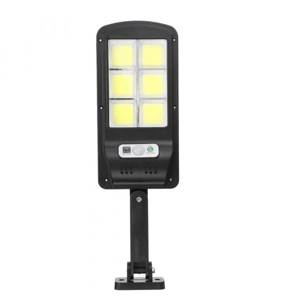 Motion Sensor Outdoor Area Remote Controlled Solar Lamp_6