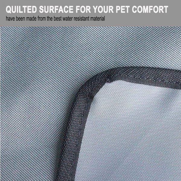 Pet Supply Quilted Cargo Vehicle Pet Car Mat_7
