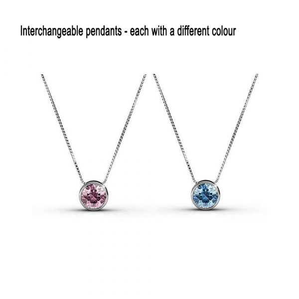 7-Day Pendant Necklace Set with Swarovski Crystals_6