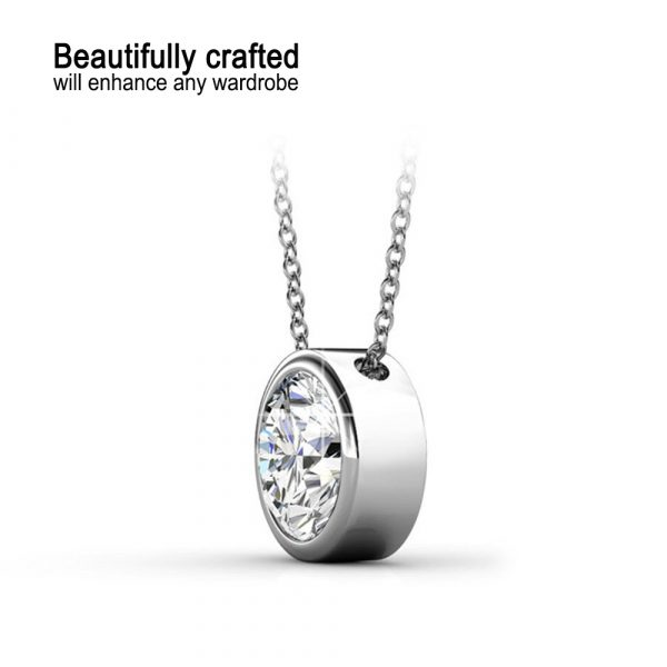 7-Day Pendant Necklace Set with Swarovski Crystals_7
