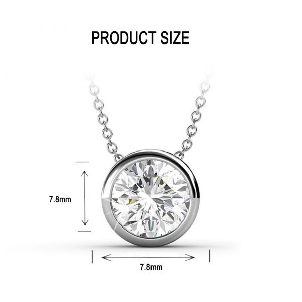 7-Day Pendant Necklace Set with Swarovski Crystals_8