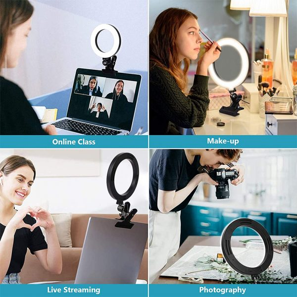 6-inch 3 Modes USB Interface Video Conferencing Fill Light_10