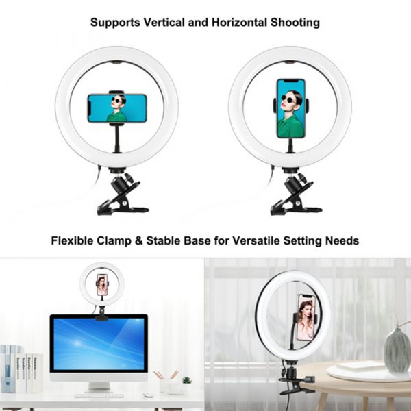 6-inch 3 Modes USB Interface Video Conferencing Fill Light_12