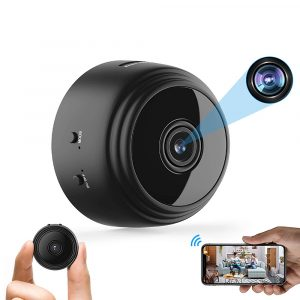 Full HD Mini Wi-Fi Motion Sensor Security Camera