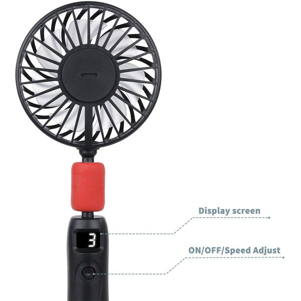 2-in-1 Portable Handheld and Hanging Neck Fan_8