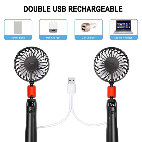 2-in-1 Portable Handheld and Hanging Neck Fan_11