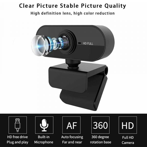 1080P Full HD Web Camera with Microphone_3