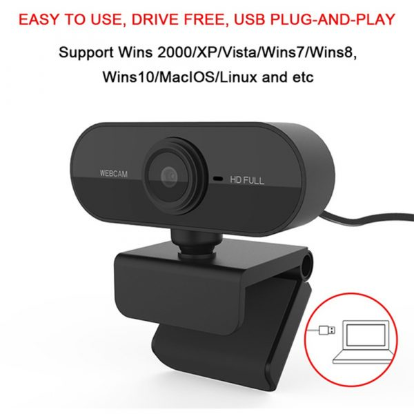 1080P Full HD Web Camera with Microphone_5