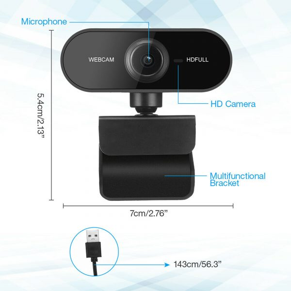 1080P Full HD Web Camera with Microphone_9