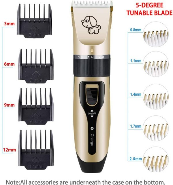 Pet Clippers Professional Electric Pet Hair Shaver_5