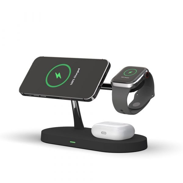 3-in-1 15W Wireless Magnetic Charger_0