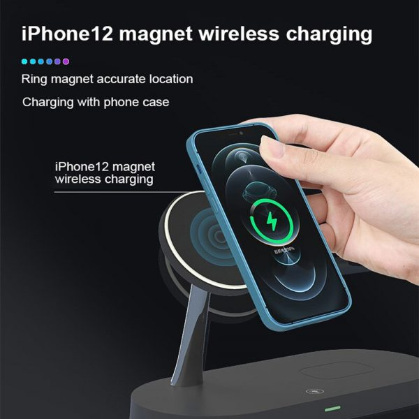3-in-1 15W Wireless Magnetic Charger_4