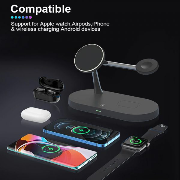 3-in-1 15W Wireless Magnetic Charger_13