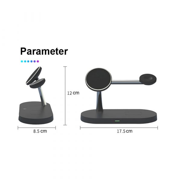 3-in-1 15W Wireless Magnetic Charger_14