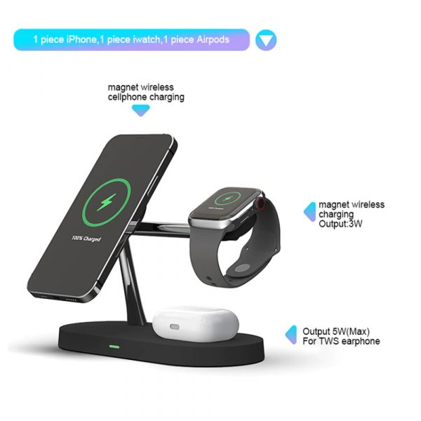 3-in-1 15W Wireless Magnetic Charger_6
