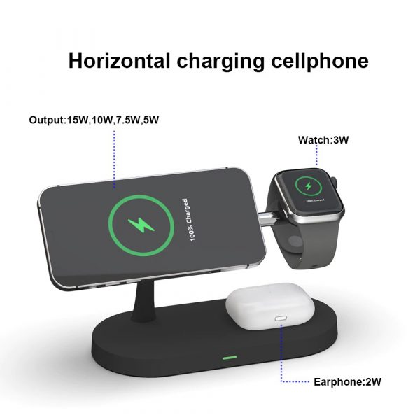 3-in-1 15W Wireless Magnetic Charger_8