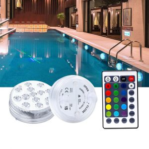 Remote Controlled Submersible LED Lights