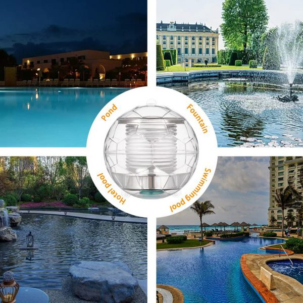 Solar Powered Color Changing LED Floating Pool Lights_5