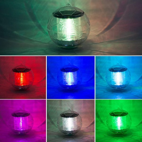 Solar Powered Color Changing LED Floating Pool Lights_9