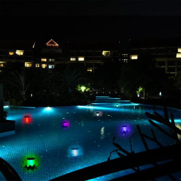 Solar Powered Color Changing LED Floating Pool Lights_10