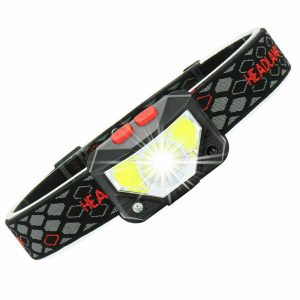 Bright Waterproof Rechargeable LED Head Lamp