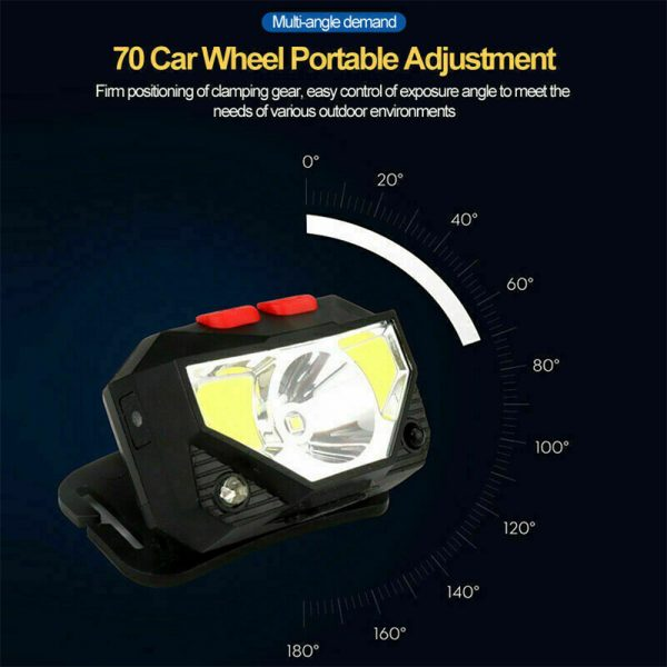 Bright Waterproof Rechargeable LED Head Lamp_6