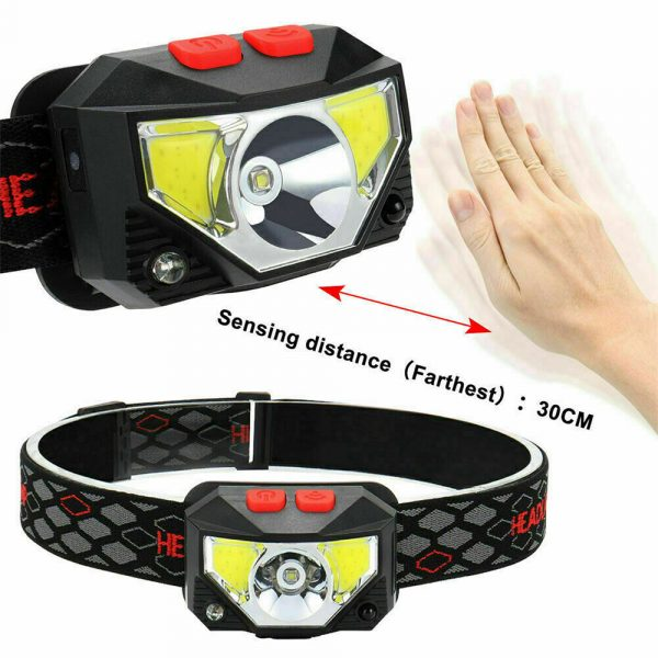 Bright Waterproof Rechargeable LED Head Lamp_7