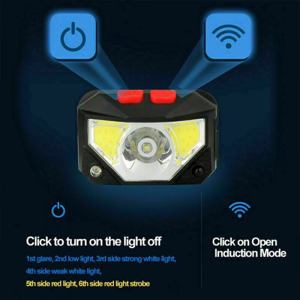 Bright Waterproof Rechargeable LED Head Lamp_9