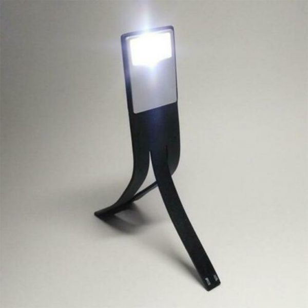 USB Rechargeable Portable LED Reading Booklight with Clip_1