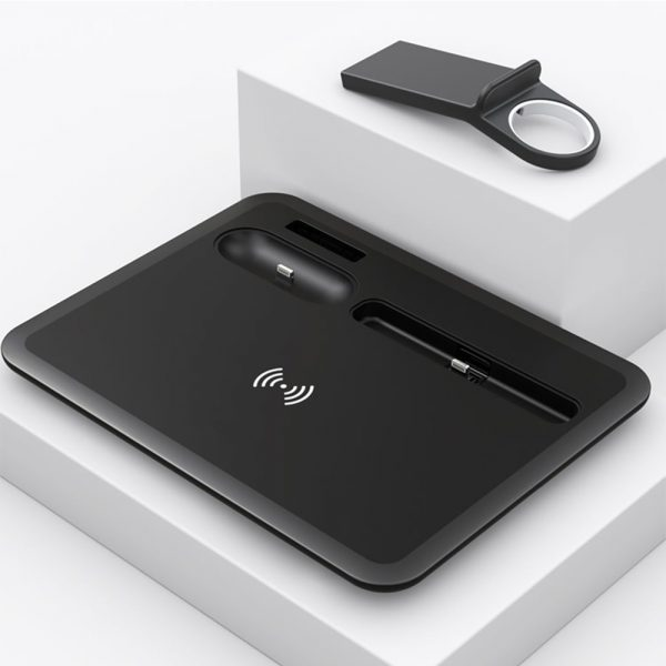 Multi-Function QI Enabled Wireless 3-in-1 Fast Charging Station_2
