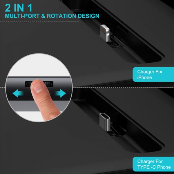 Multi-Function QI Enabled Wireless 3-in-1 Fast Charging Station_5