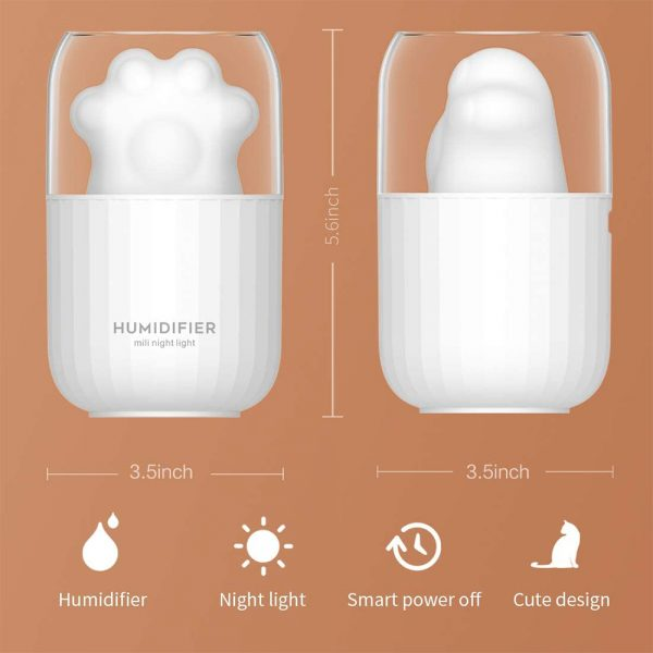 Essential Oil Diffuser and Humidifier with Auto-off Night Light_4