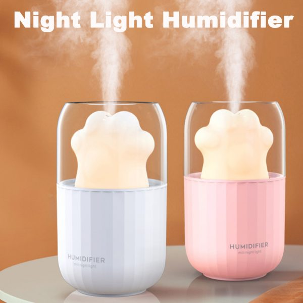 Essential Oil Diffuser and Humidifier with Auto-off Night Light_7