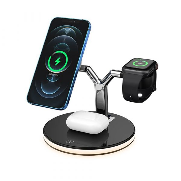 3-in-1 Magnetic Charger Y-Shape MagSafe Fast Charging Station_0