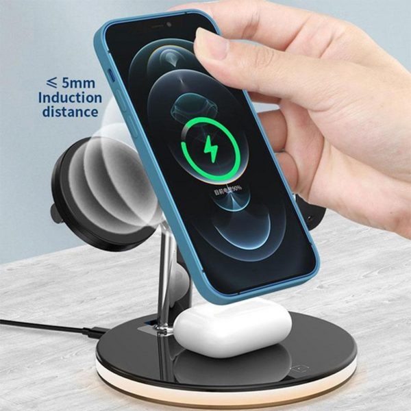 3-in-1 Magnetic Charger Y-Shape MagSafe Fast Charging Station_6